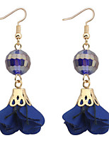 Drop Earrings Women's Girls' Euramerican Personalized Friendship Resin Rhinestone Leaf Movie Jewelry Party Daily Casual