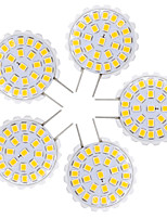 1.5W LED à Double Broches T 27 SMD 2835 100-150 lm Blanc Chaud Blanc Froid V 5 pièces