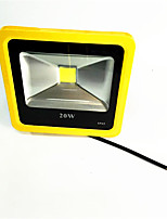 1pcs 20W Yellow Color LED Outdoor FloodLight IP65 3000K/6000K Waterproof LED Spotlight For Garage Garden AC85-265V