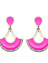Women's Drop Earrings Geometric Bohemian Arylic Alloy Candy Color Jewelry For Party Daily Casual Stage 1 pair