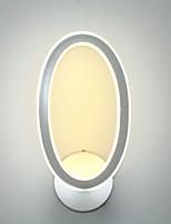 AC 100-240 24 Integroitu LED Moderni Maalaus Ominaisuus for LED,Ympäröivä valo LED-seinävalaisimet Wall Light