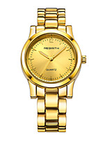 REBIRTH Women's Fashion Watch Chinese Quartz Alloy Band Silver Gold