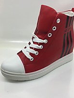 Women's Sneakers Comfort Denim Spring Fall Casual Outdoor Office & Career Comfort Lace-up Ruby Flat