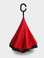 Japanese Hands-free Long Handle Reverse Straight Sunny Umbrella