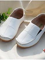 Мальчики Сандалии Мокасины Обувь для малышей Кожа Весна Осень Для прогулок Повседневный Для прогулок На липучках На низком каблукеБелый