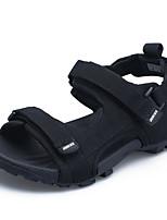 Men's Sandals Comfort Fabric Spring Casual Comfort Blushing Pink Black Flat