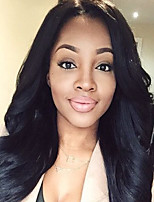 Hot Sale 100% Human Hair Wigs Natural Hairline Body Wave Style Guleless Lace Front Wigs For Black Women