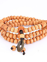 Men's Strand Bracelet Wrap Bracelet Jewelry Natural Fashion Wood Irregular Jewelry For Special Occasion Gift Sports 1pc