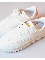 Da donna Sneakers PU (Poliuretano) Primavera Bianco Piatto