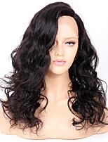Premier®body волна полный кружева человеческих волос парики-glueless 130% плотность бразильских виргинских remy полный парики шнурка с