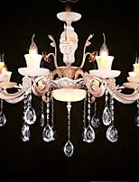 Подвесные лампы ,  Традиционный/классический Электропокрытие Особенность for Хрусталь Мини МеталлГостиная Спальня Столовая Прихожая
