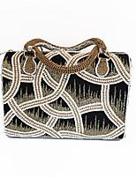 Women Full Diamonds Beaded Handbag with India Handicraft