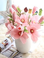 Single Branch Shape Simulation Flowers Foreign Trade Flower Arranging Home Decoration Wedding Off