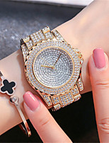 Women's Fashion Watch Japanese Quartz Water Resistant / Water Proof Stainless Steel Band Sparkle Elegant Silver Gold Rose Gold