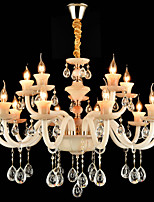 Chandelier ,  Modern/Contemporary Traditional/Classic Electroplated Feature for Crystal Mini Style MetalDining Room Study Room/Office