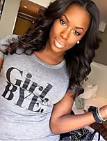 New Stlye Brazilian Virgin Hair Lace Wigs Lace Front Human Hair Wigs Loose Wave Virgin Hair Wig for Black Woman
