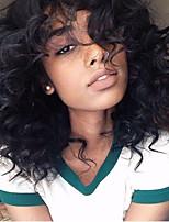 150% Density Brazilian Virgin Hair Lace Wigs Kinky Curly Front Lace Human Hair Wigs Short Virgin Hair Wig for Woman