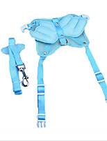 Harness Leash Safety Adjustable Solid Nylon