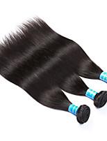 Tissages de cheveux humains Cheveux Péruviens Droit 12 mois 3 Pièces tissages de cheveux