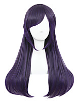 Medium Beautiful Purple Mixed Straight Synthetic 26inch Anime Cosplay Lolita wig CS-122A