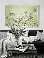 Floral/Botanical 3D Framed Art Wall Art,PS Material Black No Mat With Frame For Home Decoration Frame Art