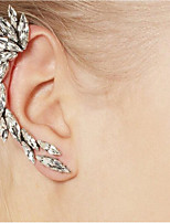 The Alloy Is Studded With Precious And Stylish Ear Clip Earrings