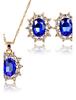 Jewelry Set Bridal Jewelry Sets Pendants AAA Cubic Zirconia Euramerican Fashion Adorable Simple Style ClassicCubic Zirconia Rhinestone