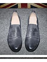 Da uomo Sneakers Comoda Tulle PU (Poliuretano) Primavera Casual Comoda Nero Grigio Giallo Piatto