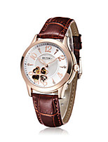 Women's Fashion Watch Mechanical Watch Automatic self-winding Leather Band Brown