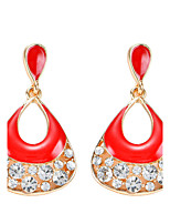 Women's Drop Earrings Bohemian Geometric Arylic Alloy Candy Color Jewelry For Party Daily Casual Stage 1 pair