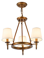 LightMyself Chandelier and Ceiling Lights 3 Lights One Light Two Style Flush Mounted Fixture Modern/Contemporary Traditional/Classic Rustic Painting