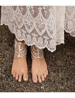 Women's Anklet/Bracelet Imitation Pearl Rhinestone Alloy Handmade Fashion Drop Jewelry For Daily Casual 1 pcs