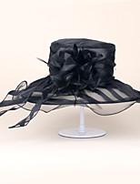 Organza Headpiece-Wedding Special Occasion Casual Office & Career Hats 1 Piece