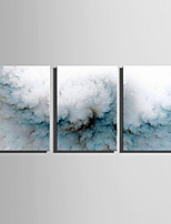 E-HOME Stretched Canvas Art  The Riddle Of Dust Decoration Painting Set Of 3