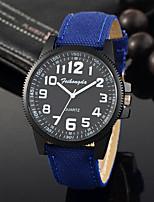 Homens Relógio Esportivo Relógio de Moda Relógio de Pulso Único Criativo relógio Relógio Casual Quartzo Tecido BandaPendente Legal Casual