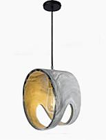 Luzes Pingente ,  Contemprâneo Tradicional/Clássico Pintura Característica for Estilo Mini MetalSala de Estar Quarto Sala de Jantar