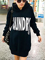 Women's Plus Size Casual Hoodie Solid Oversized V Neck Fleece Lining Micro-elastic Cotton Long Sleeve Spring