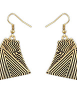 Euramerican National Style Personalized  Copper Alloy  Earrings Women's Daily Statement Jewelry