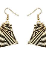 Ohrstecker Tropfen-Ohrringe Kreolen SchmuckBasis Einzigartiges Design Logo Stil Freundschaft Rock Britisch Hypoallergen Grabado