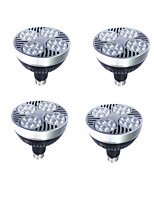 4PCS E27 25W LED PAR30 Lights  Power Lights 1300-1500 lm Warm White /White  220V