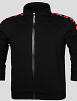Men's Long Sleeve Running Tracksuit Thermal / Warm Spring Fall/Autumn Winter Sports Wear Running Polyester