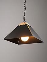 Lampe suspendue ,  Contemporain Peintures Fonctionnalité for Style mini Métal Salle de séjour Entée Couloir 1 Ampoule