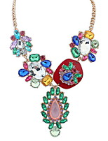 Statement Necklaces Y-Necklaces Chain Pendant Multicolor Bohemian Beach Holiday Gift Jewelry