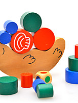 Building Blocks Pegged Puzzles For Gift  Building Blocks Model & Building Toy Snail Wood 2 to 4 Years 5 to 7 Years Toys