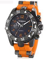 Homens Adulto Relógio Esportivo Relógio Militar Relógio de Moda Bracele Relógio Único Criativo relógio Relógio Casual Relógio de Pulso