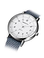 Mulheres Relógio de Moda Chinês Quartzo Tecido Banda Preta Branco Azul Prata Cinza