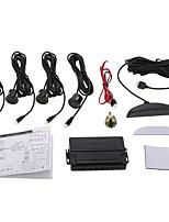 Kkmoon auto auto sistema de radar de estacionamento de 4 sensores sistema de alarme de radar reverso