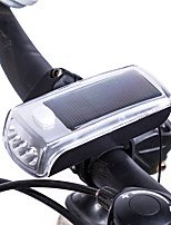 Bike Bicycle 4 LED Solar Powered USB 2.0 Rechargeable Front Light Headlight