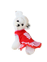Dog Dress Dog Clothes Party Casual/Daily Princess Ruby