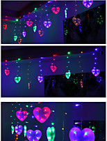Marriage Room Decoration Products All Over The Sky Star LED Heart Shape Modelling Article LED Lights String Of Love Ice Lamp